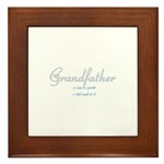 Grandfather Framed Tile