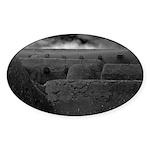 Taos Wall Oval Sticker (10 pk)
