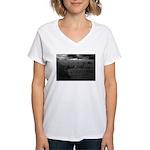 Taos Wall Women's V-Neck T-Shirt