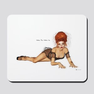 Follow you Follow me Mousepad