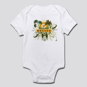 Palm Tree Belize Infant Bodysuit