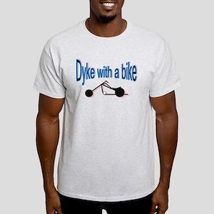 Dyke on a bike Light T-Shirt