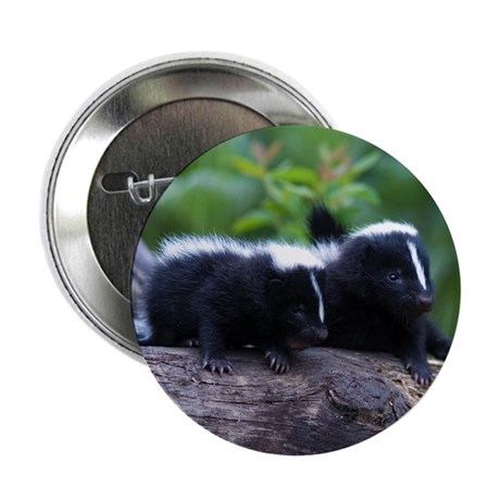 "Skunk 2.25"" Button (100 pack)"