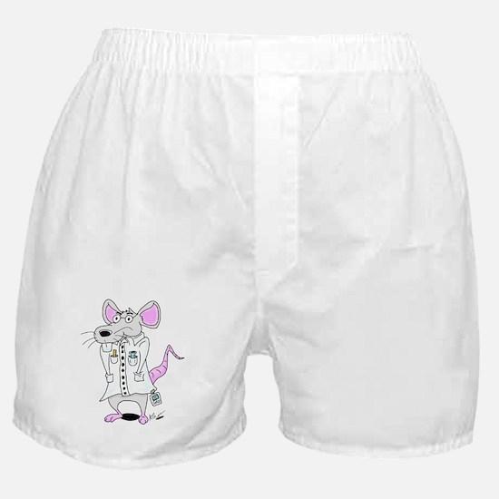 Scientist Lab Rat Boxer Shorts