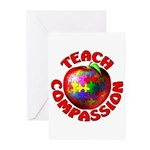 Teach Compassion Greeting Cards (Pk of 10)