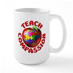 Teach Compassion Large Mug