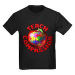 Teach Compassion Kids Dark T-Shirt