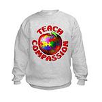 Teach Compassion Kids Sweatshirt