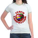 Teach Compassion Jr. Ringer T-Shirt