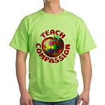 Teach Compassion Green T-Shirt
