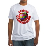 Teach Compassion Fitted T-Shirt