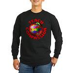 Teach Compassion Long Sleeve Dark T-Shirt