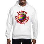 Teach Compassion Hooded Sweatshirt