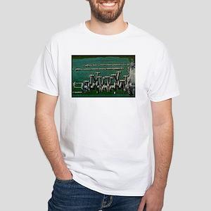 Pistons White T-Shirt