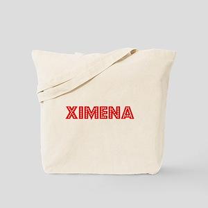 Retro Ximena (Red) Tote Bag
