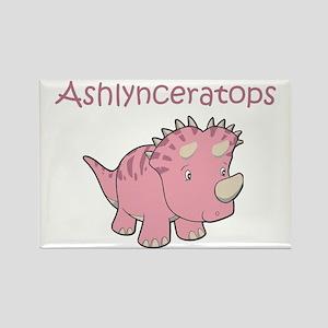 Ashlynceratops Rectangle Magnet
