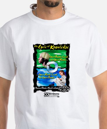 Cycle of Knowledge White T-Shirt