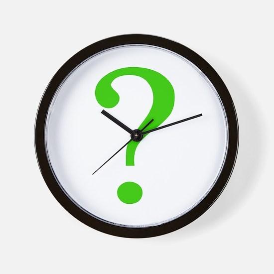Unique Question mark Wall Clock