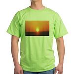 Florida Sunset Green T-Shirt