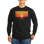 Florida Sunset Long Sleeve Dark T-Shirt