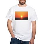 Florida Sunset White T-Shirt