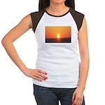 Florida Sunset Women's Cap Sleeve T-Shirt