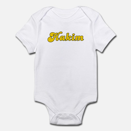 Retro Hakim (Gold) Infant Bodysuit