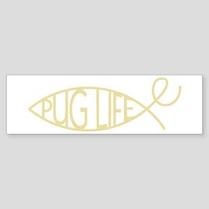 evo-Pug Life-lution Bumper Sticker