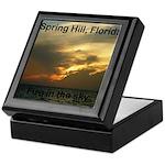 Spring Hill Fire in the Sky Keepsake Box