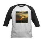 Spring Hill Fire in the Sky Kids Baseball Jersey