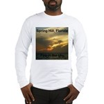 Spring Hill Fire in the Sky Long Sleeve T-Shirt