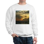 Spring Hill Fire in the Sky Sweatshirt