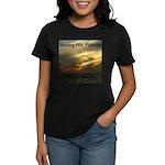 Spring Hill Fire in the Sky Women's Dark T-Shirt