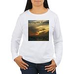 Spring Hill Fire in the Sky Women's Long Sleeve T-