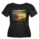 Spring Hill Fire in the Sky Women's Plus Size Scoo