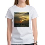 Spring Hill Fire in the Sky Women's T-Shirt