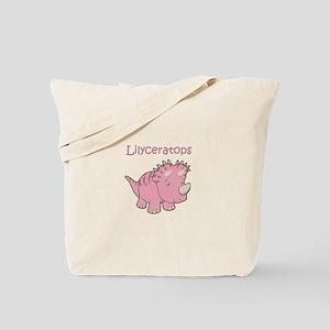 Lilyceratops Tote Bag