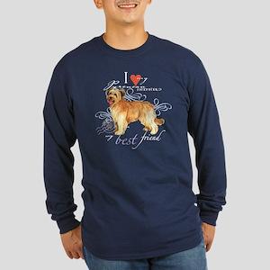 Pyrenean Shepherd Long Sleeve Dark T-Shirt
