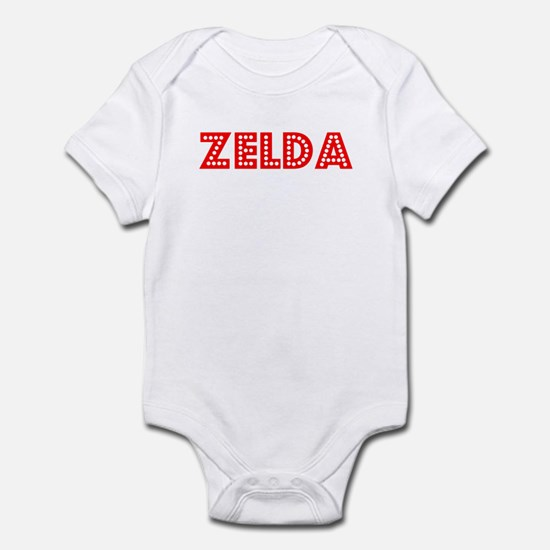 Retro Zelda (Red) Infant Bodysuit