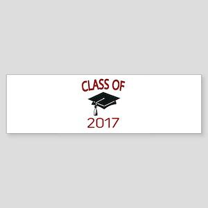 Class Of 2017 Bumper Sticker