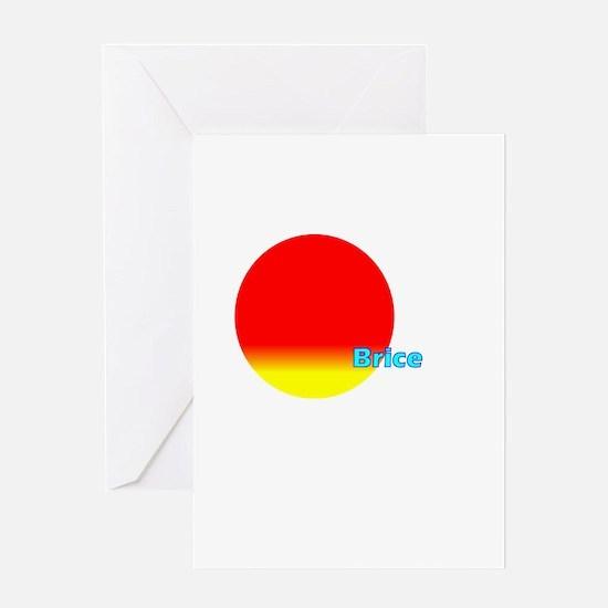 Brice Greeting Card