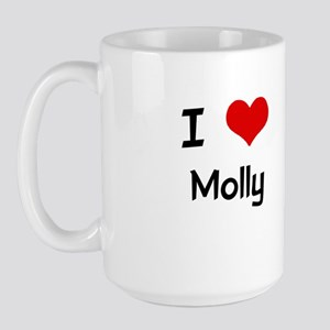I LOVE MOLLY Large Mug