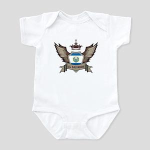 El Salvador Emblem Infant Bodysuit