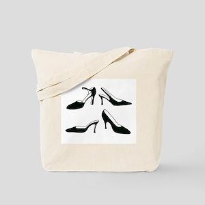 Ladies' Shoes Tote Bag
