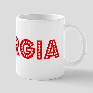 Retro Georgia (Red) Mug