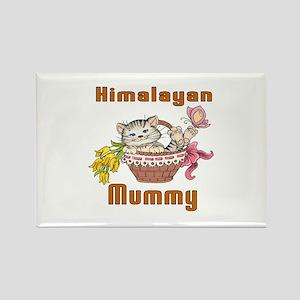 Himalayan Cats Mummy Rectangle Magnet
