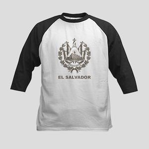 Vintage El Salvador Kids Baseball Jersey