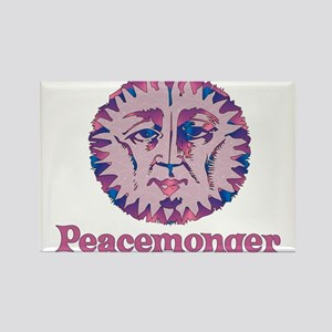 Peacemonger Face Rectangle Magnet