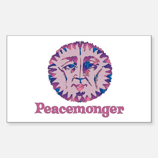 Ancient Peacemonger Rectangle Decal