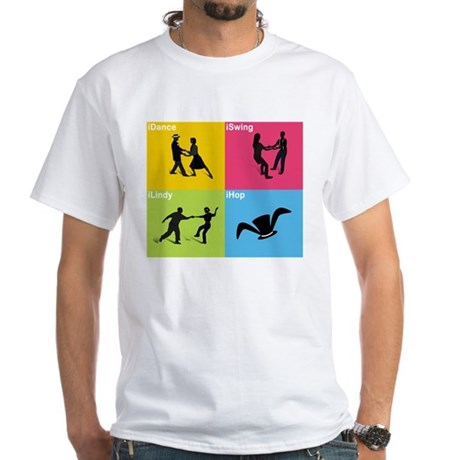 MAD Hoppers White T-Shirt